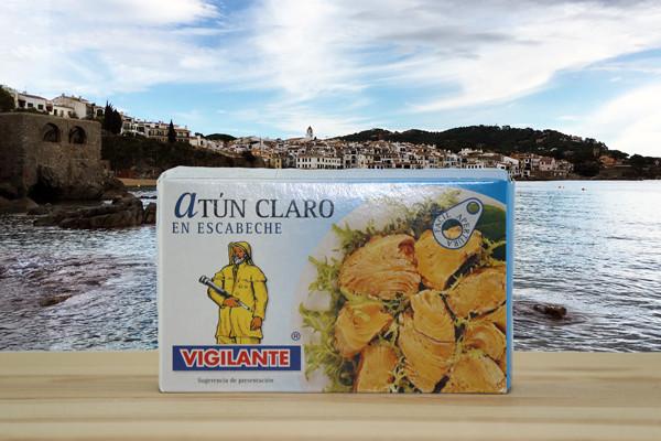 Atun claro en escabeche - Thunfisch in Marinadensauce