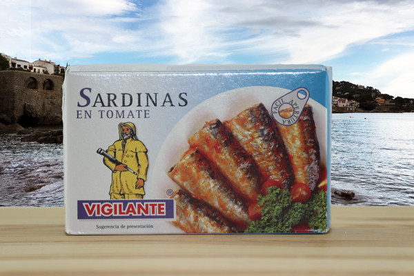Sardinas en Tomate - Sardinen in Tomate