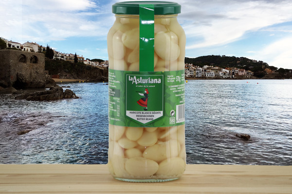 La Asturiana Alubia Granja Codida - Weisse, dicke Bohnen gekocht