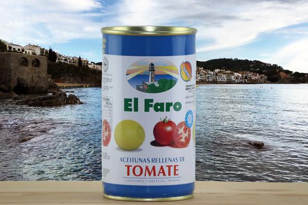 El Faro Oliven gefüllt mit Tomate