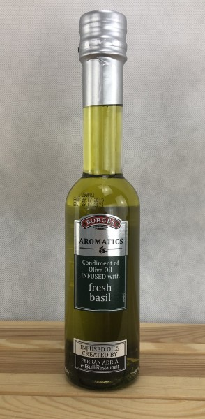 Borges Olivenöl Aromatisiert m. frischem Basilikum