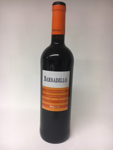 Antonio Barbadillo Tinto semi dulce