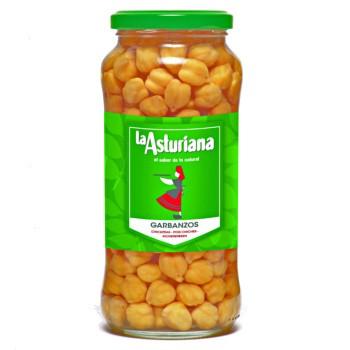La Asturiana Garbanzos Cocidos - Kichererbsen gekocht