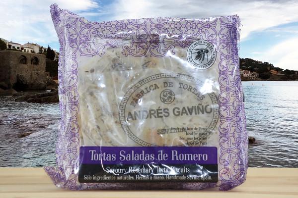 Tortas Gaviño Romero - Salzgebäck m. Rosmarin