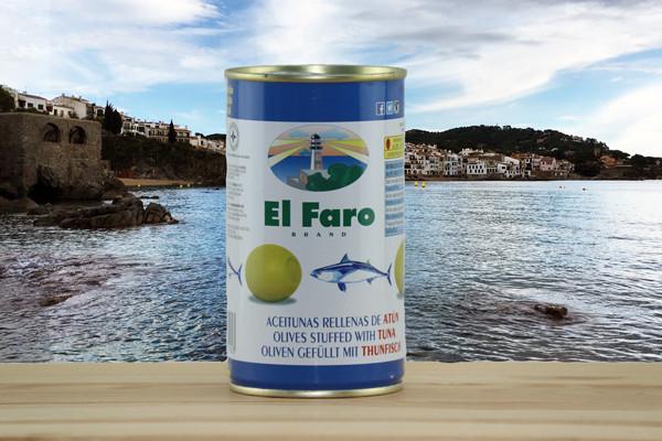 El Faro Oliven gefüllt mit Thunfisch