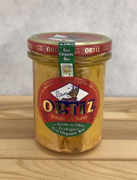 Bonito Claro Bio Aceite - weißer Thunfisch Bio in Olivenöl DE-ÖKÖ-34