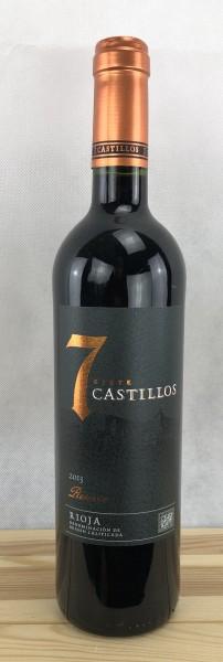 7 Castillos Tempranillo Reserva