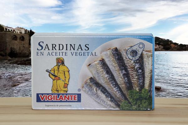 Sardinas en aceite - Sardinen in Öl