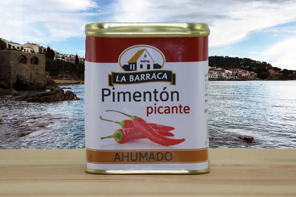 La Baracca Pimenton pikante - Paprikapulver Pikant geräuchert