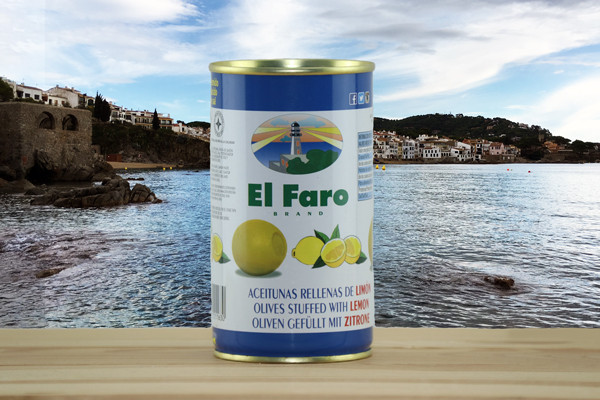 El Faro Oliven gefüllt mit Zitrone