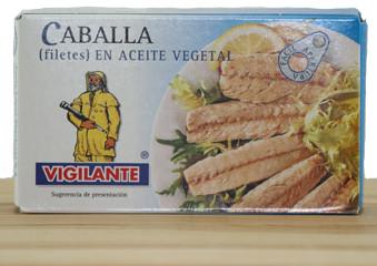 Filet de Caballa en aceite - Makrelenfilet in Pflanzenöl