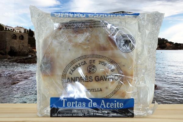 Tortas Gaviño Aceite Oliva - Salzgebäck m. Olivenöl