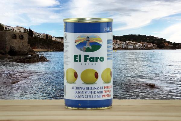 El Faro Oliven gefüllt mit Paprika