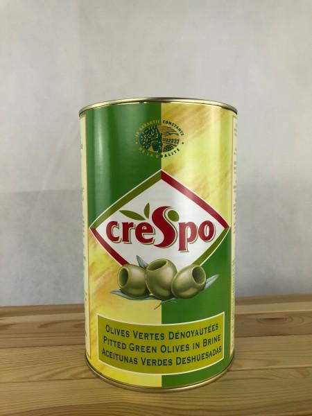 Grüne Oliven mit Stein - Große Dose