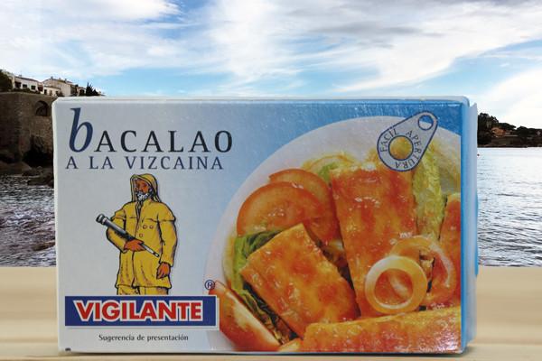 Bacalao Vizcaina -. Kabeljau in Tomatensauce