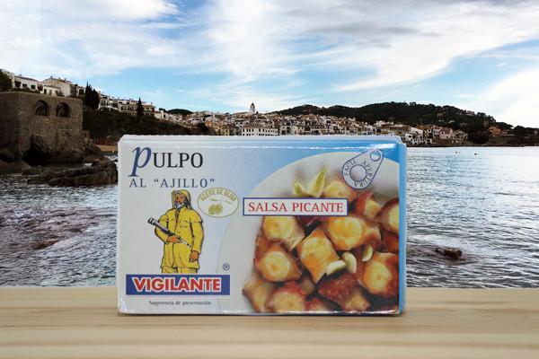 Pulpo Ajillo - Polypfisch in Knoblauchsaft