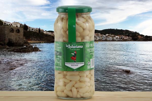 La Asturiana Alubia Blanca Cocida - Weisse Bohnen gekocht